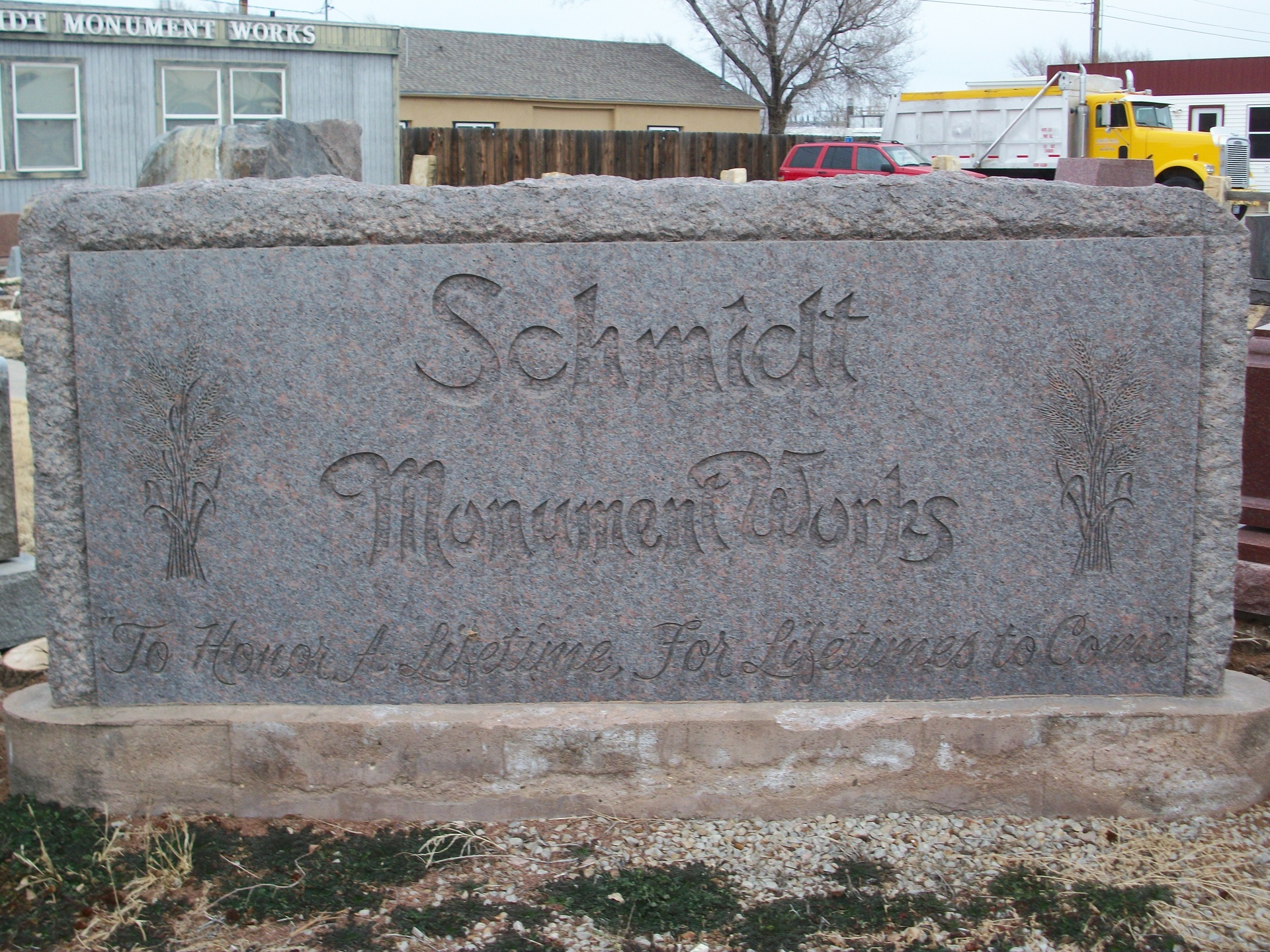 Schmidt Monument Works , 501 E 8th St, Hays, KS, 67601